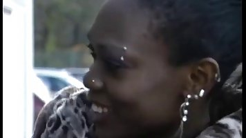 Black woman met a guy in front of a local super market, who decided to take her home