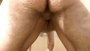 Cock loving babe just can't have enough of a rock hard meat stick deep inside her