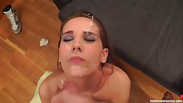 Tina Blade does not care if she is going to get cum all over her face